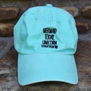 "Rue21 ""Mermaid Today, Unicorn Tomorrow"" Cap"